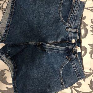 High waisted mom shorts - Gap